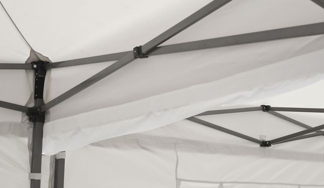 tentastic alu faltpavillon 3x4 5 m gelb. Black Bedroom Furniture Sets. Home Design Ideas