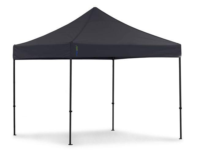 tentastic pro faltpavillon 3x3 m schwarz. Black Bedroom Furniture Sets. Home Design Ideas
