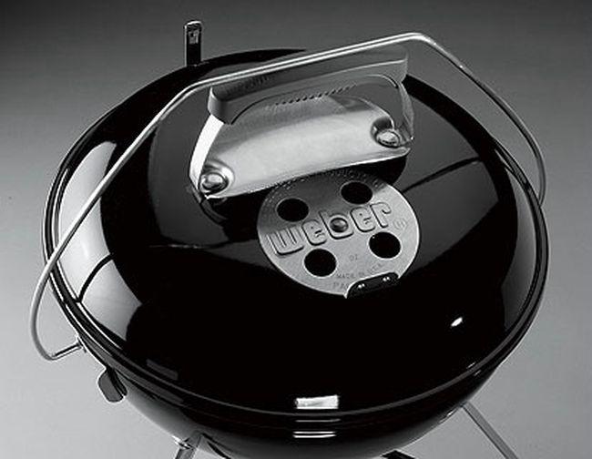 Weber Holzkohlegrill Smokey Joe Premium 37 Cm : Weber performer deluxe gbs cm holzkohlegrill schwarz